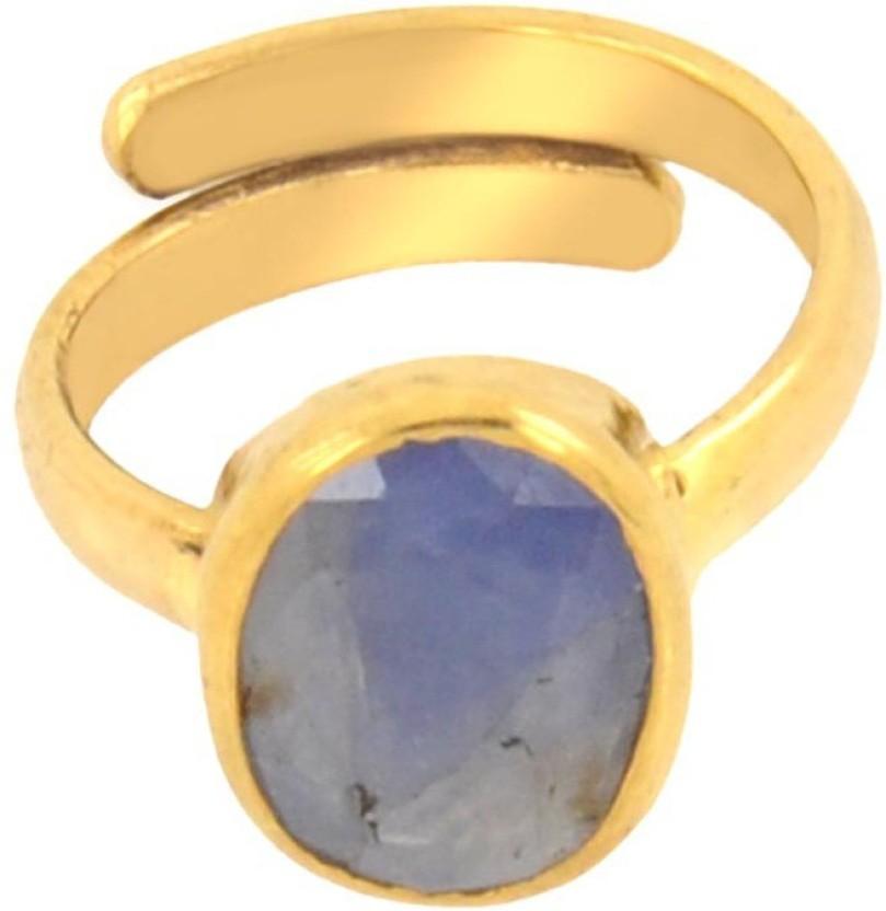 Avaatar 3 Carat Bello Metal Sapphire Ring