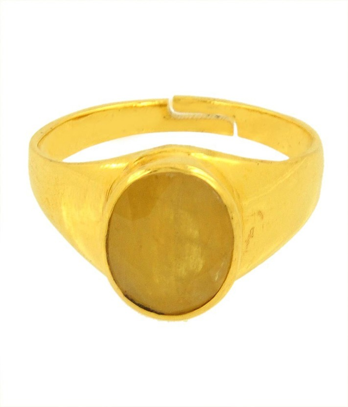 Avaatar 4 Carat Panchdhatu Bello Metal Sapphire Ring