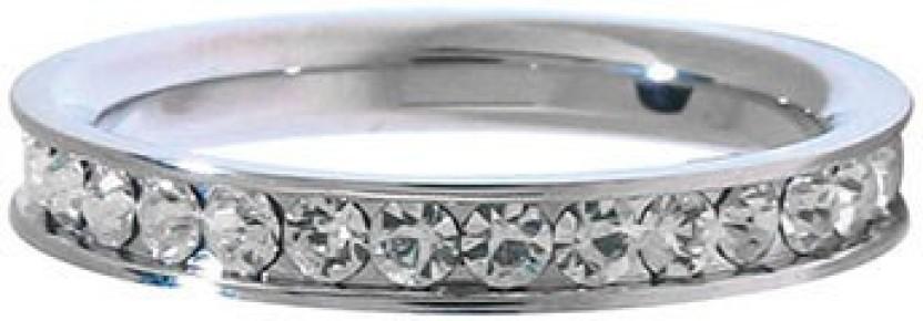 Inox Jewelry Small Eternity Stainless Steel Ring
