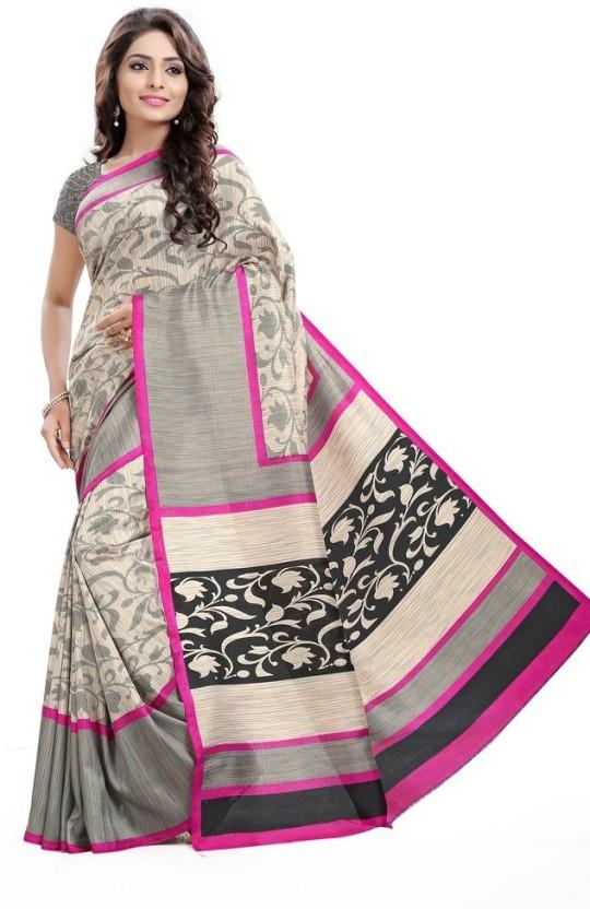 AJS Paisley Bollywood Art Silk Saree