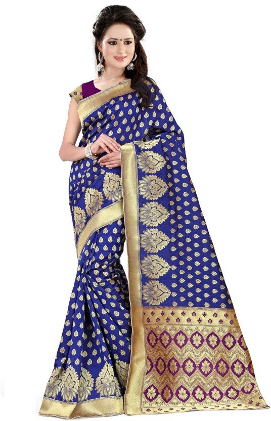 Style U Self Design Banarasi Handloom Jacquard Saree