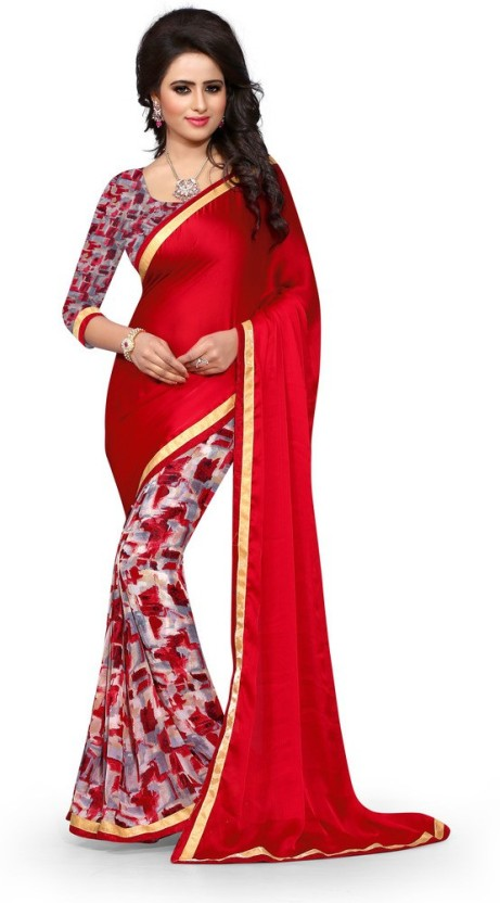 Style U Self Design Bollywood Georgette Saree