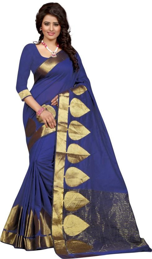 Style U Self Design Bollywood Polycotton Saree