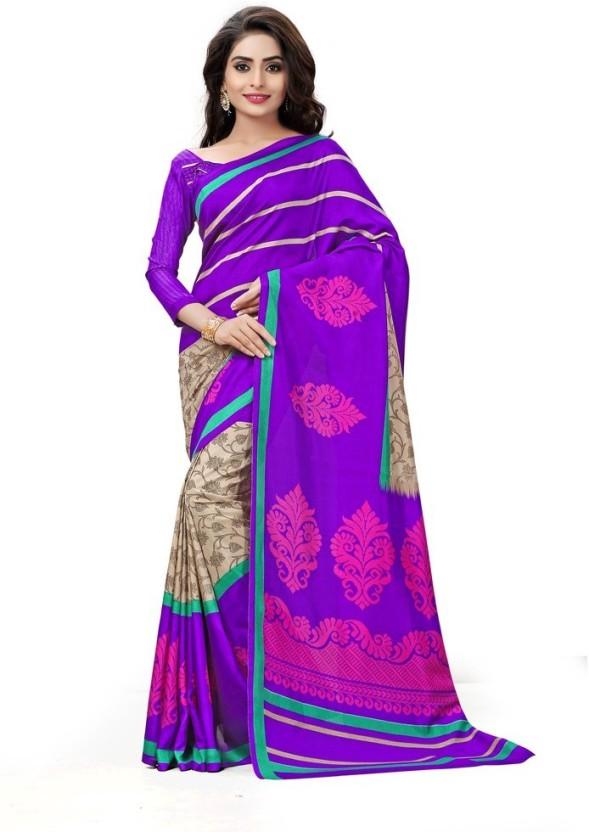 Gugaliya Paisley, Checkered Bollywood Art Silk Saree