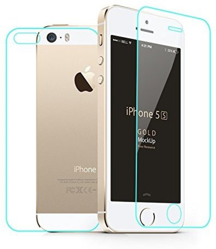 Case Creation Front & Back Protector for Apple iPhone 5S