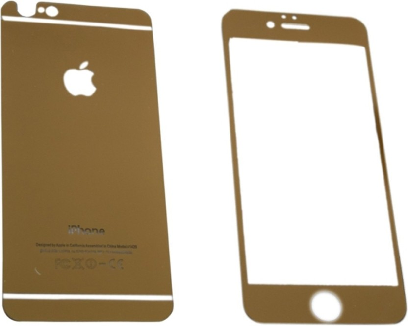 Casotec Front & Back Protector for Apple iPhone 5 / 5S (Front & Back)
