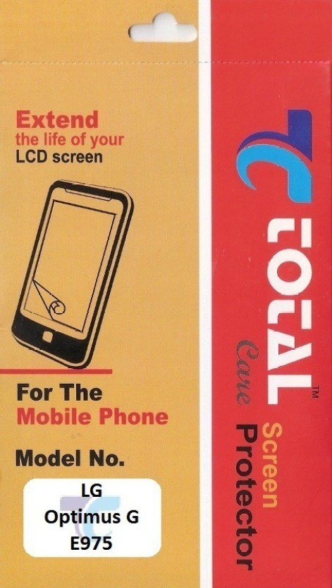 Total Care Screen Guard for LG Optimus G E975