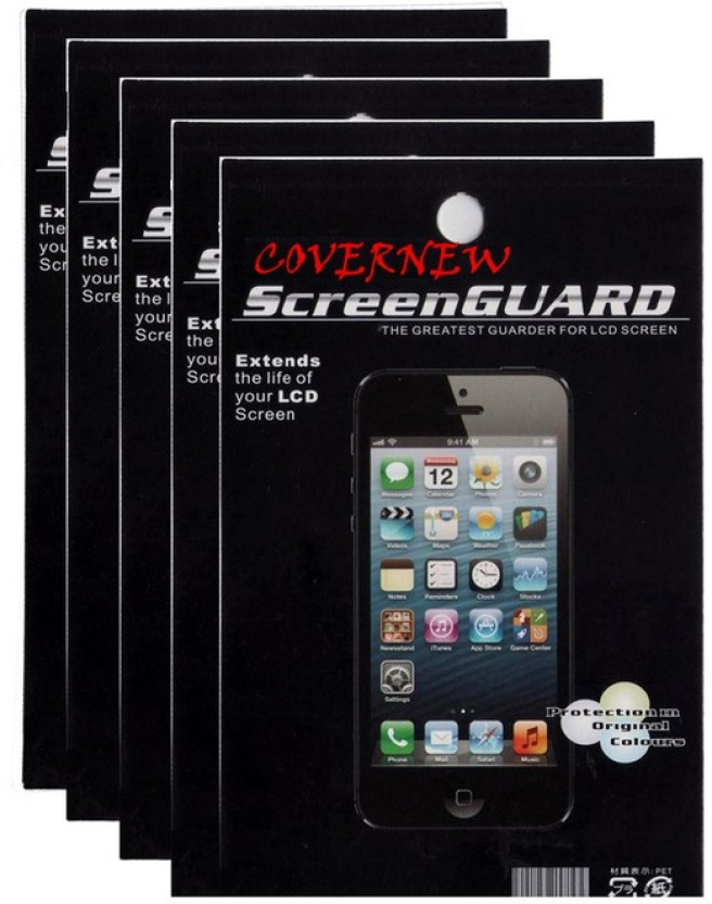 COVERNEW Screen Guard for Micromax Canvas Juice 2 AQ5001