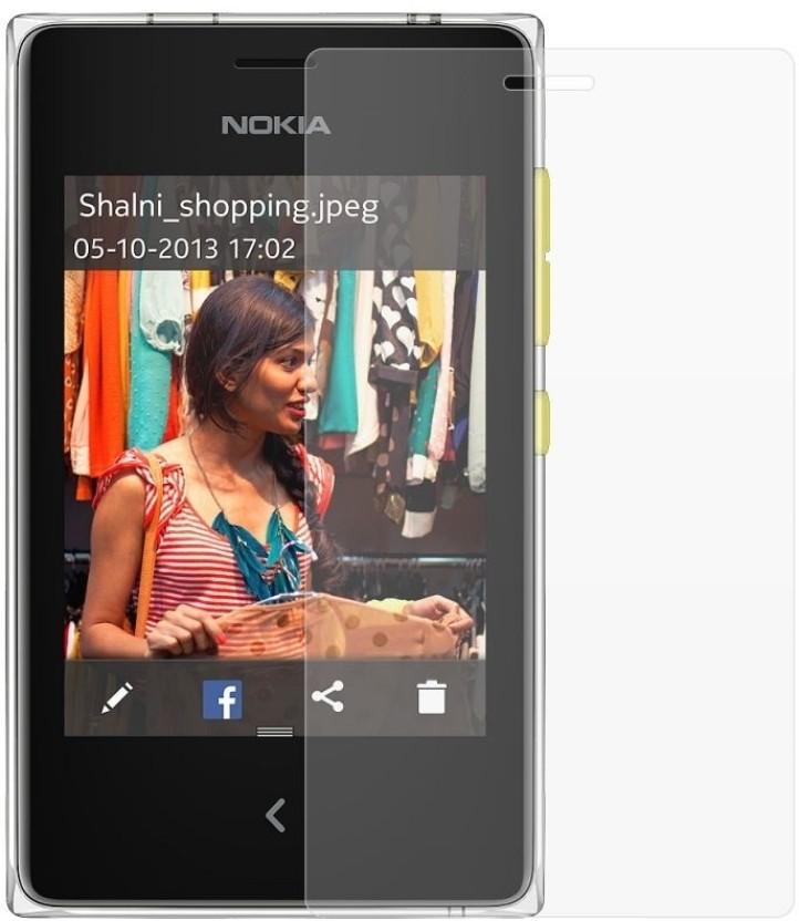 Chevron Screen Guard for Nokia Asha 502