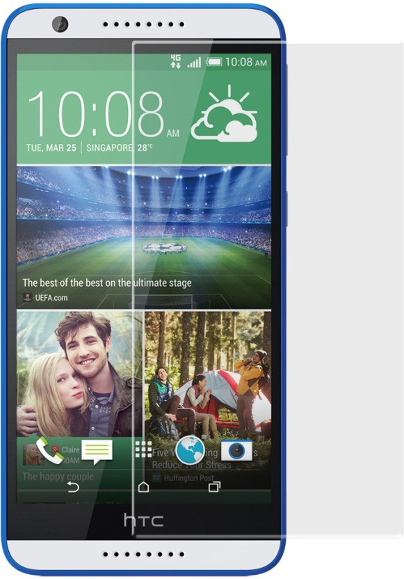 Denvik Tempered Glass Guard for HTC Desire 820S