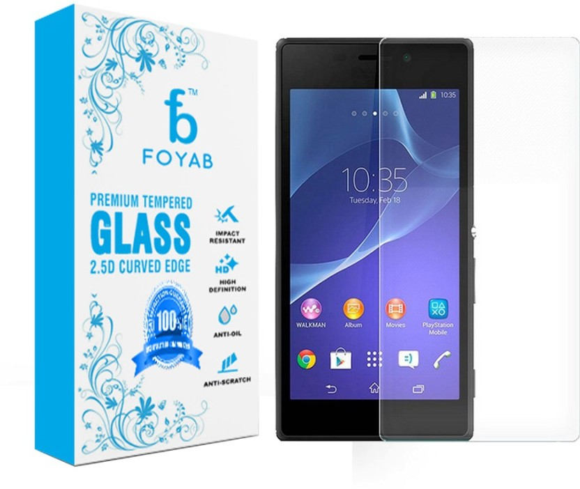 Foyab Tempered Glass Guard for SonyXperia M2