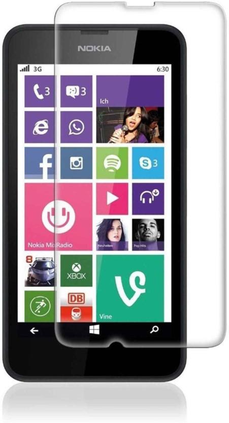 Digicube Tempered Glass Guard for Nokia Lumia 630