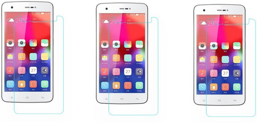 ACM Tempered Glass Guard for Gionee M3 Marathon (Pack of 3)