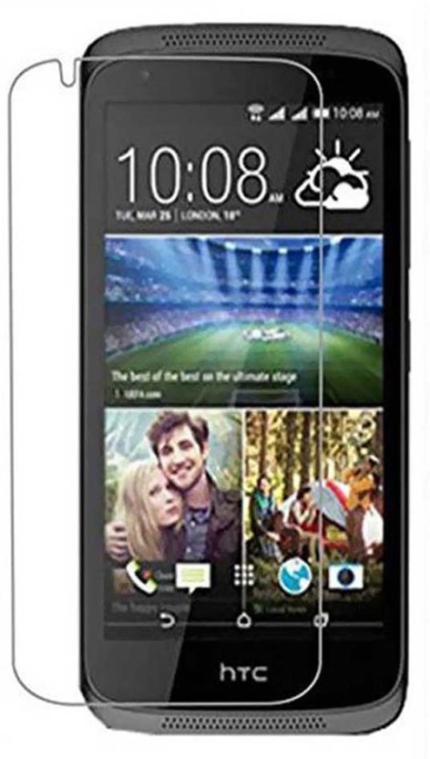 Loopee Tempered Glass Guard for Htc desire 516 duaL sim