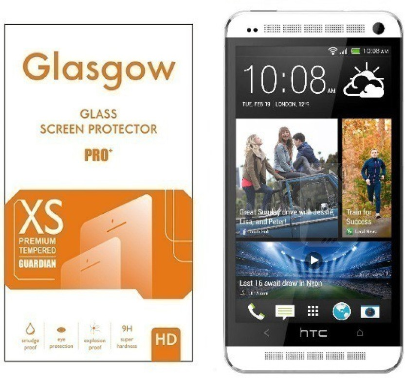 Glasgow Tempered Glass Guard for HTC One M7