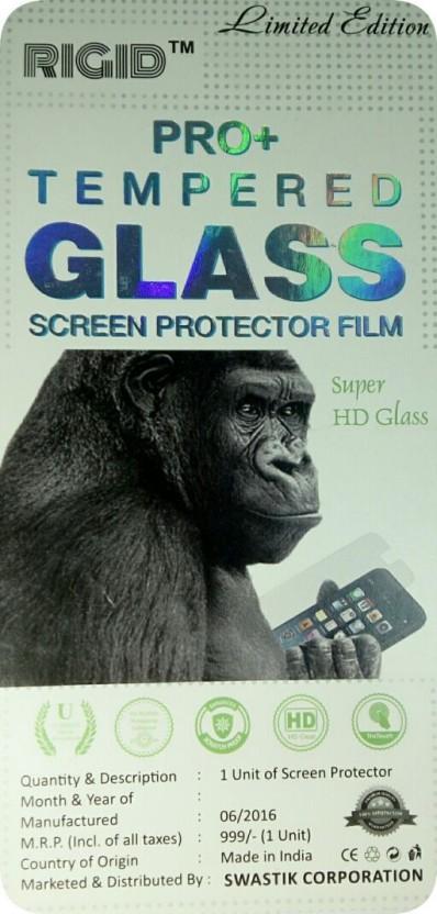 Rigid Tempered Glass Guard for MICROMAX BOLT A067