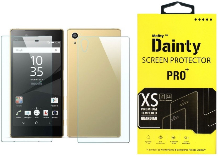 Dainty Tempered Glass Guard for Sony Xperia Z3+ Plus (5.2 inch) (Front and Back)