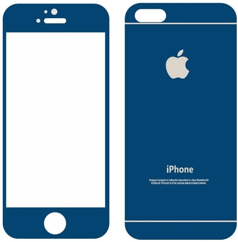 ROBMOB Front & Back Protector for Apple iPhone 5s