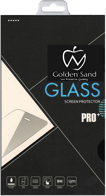 Golden Sand Tempered Glass Guard for Apple iPhone 5, Apple iPhone 5s, Apple iPhone 5c