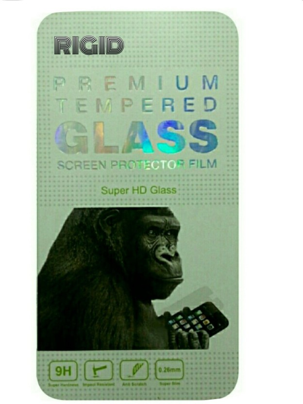 Rigid Tempered Glass Guard for Micromax Canvas 2.2 A114