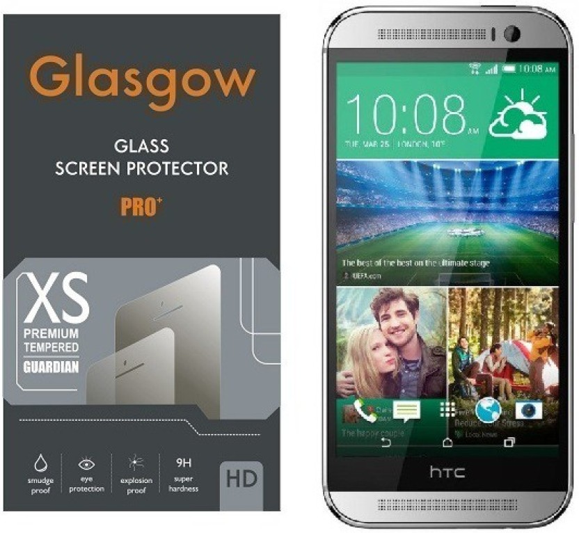 Glasgow Tempered Glass Guard for HTC One M8 EYE
