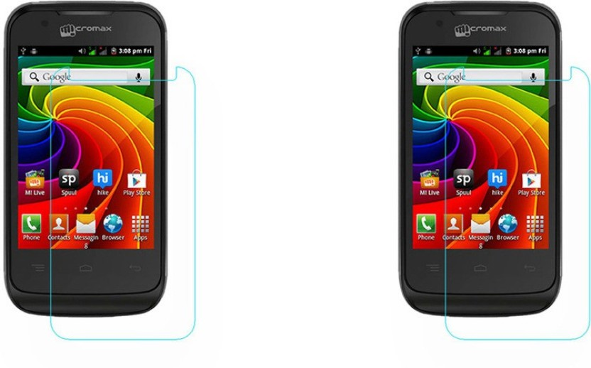ACM Tempered Glass Guard for Micromax Bolt A28, (Pack of 2)