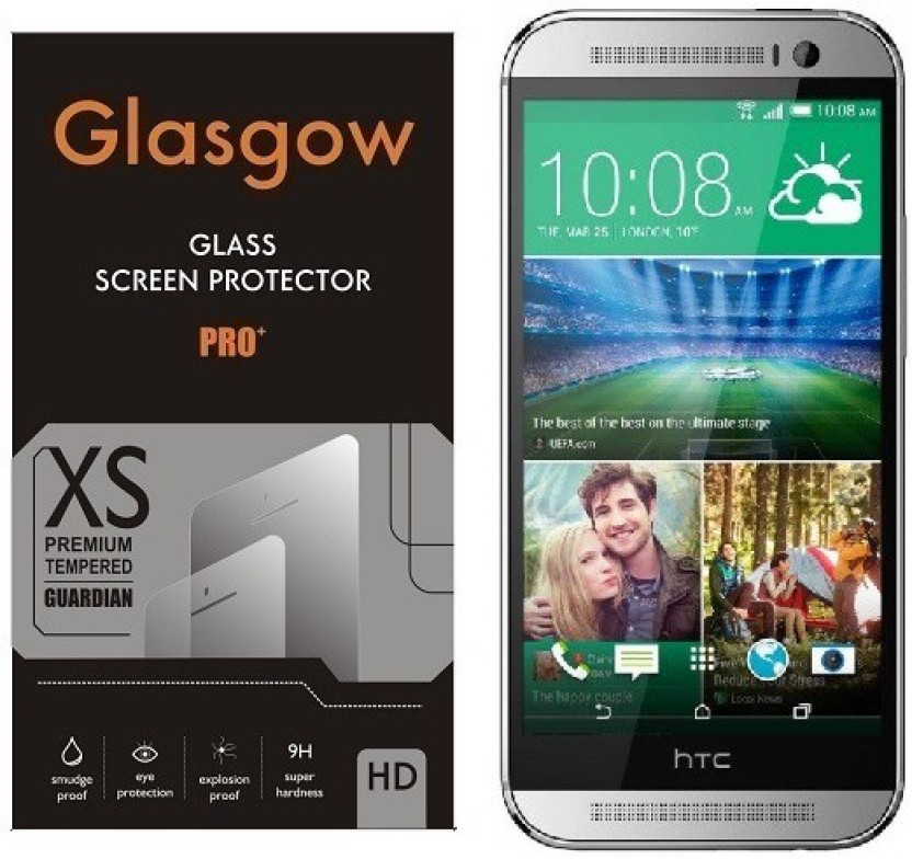 Glasgow Tempered Glass Guard for HTC One M8