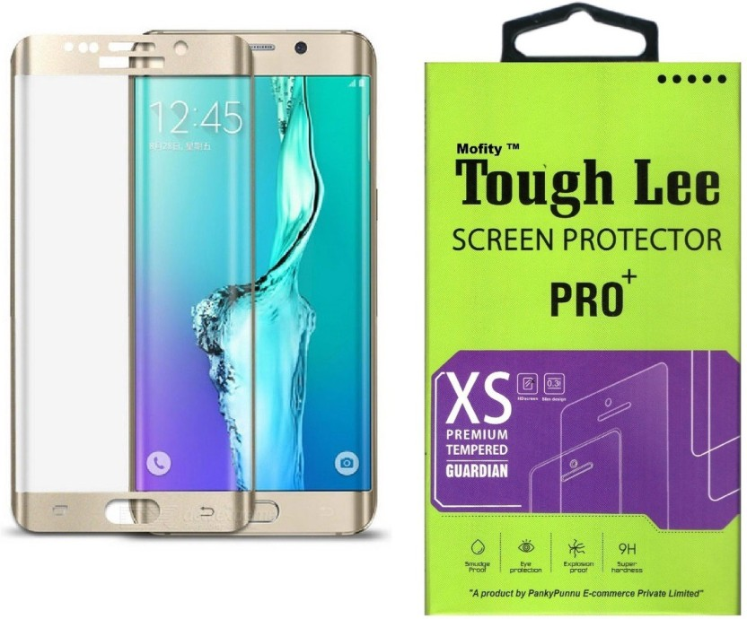 Temperia Tempered Glass Guard for Samsung Galaxy S6 (5.1 inch, Black) (Full Glass)