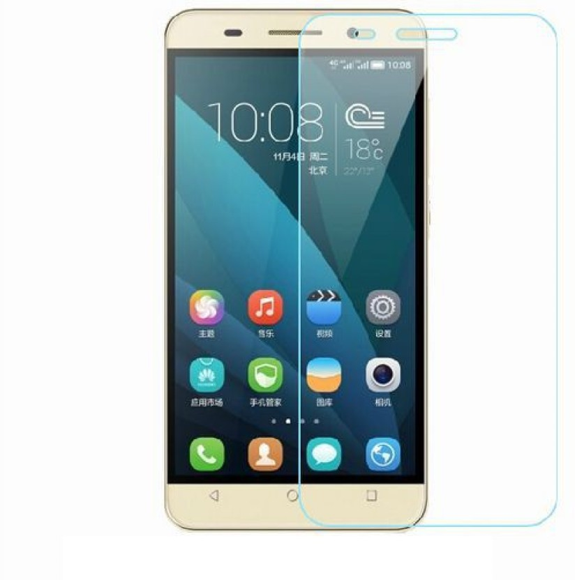 Friend Mild Tempered Glass Guard for Huawei Honor X6 Plus