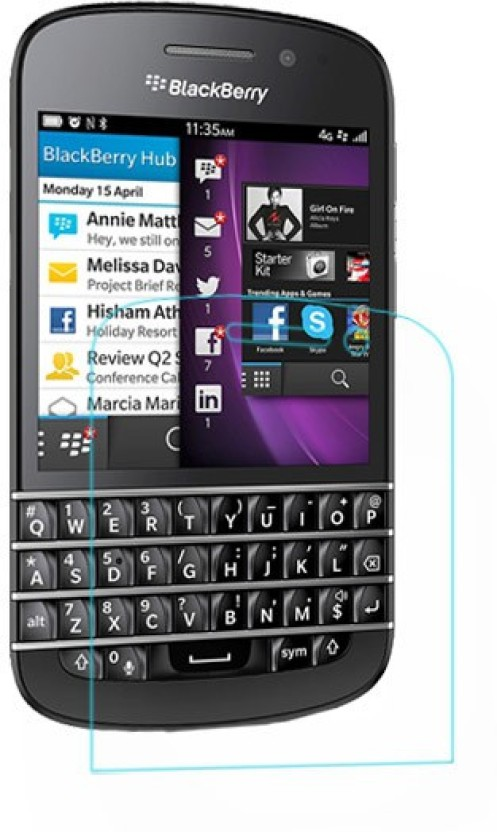 ACM Tempered Glass Guard for BlackBerry Q10