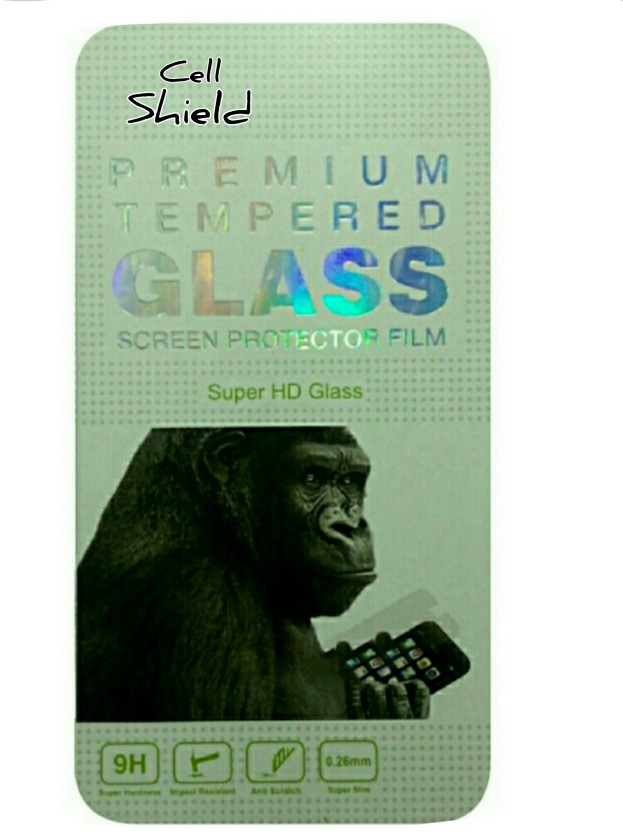 CELLSHIELD Tempered Glass Guard for MICROMAX CANVAS PEP Q371