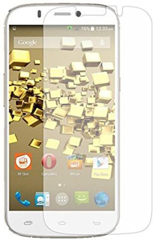 Lively Tempered Glass Guard for Micromax Canvas Turbo Mini A200