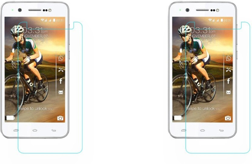 ACM Tempered Glass Guard for Karbonn Titanium Machone S310, (Pack of 2)