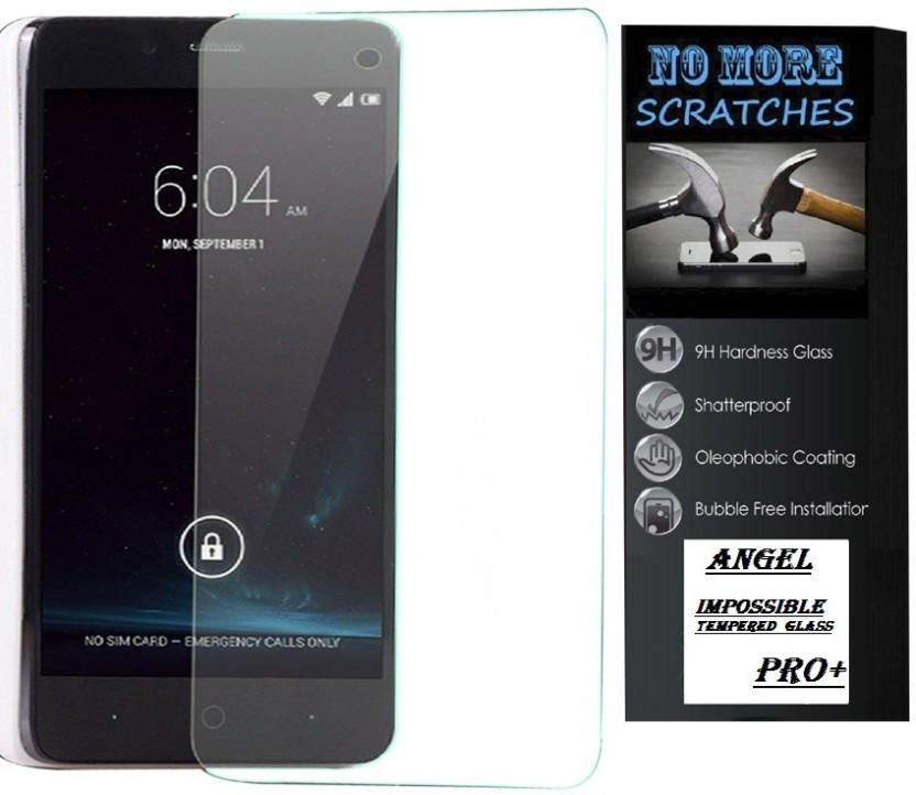 Angel 1405 Tempered Glass Guard for Iphone 4