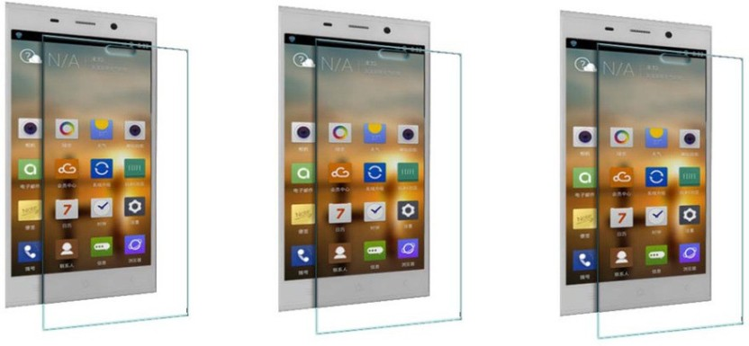 ACM Tempered Glass Guard for Gionee Elife E7 (Pack of 3)