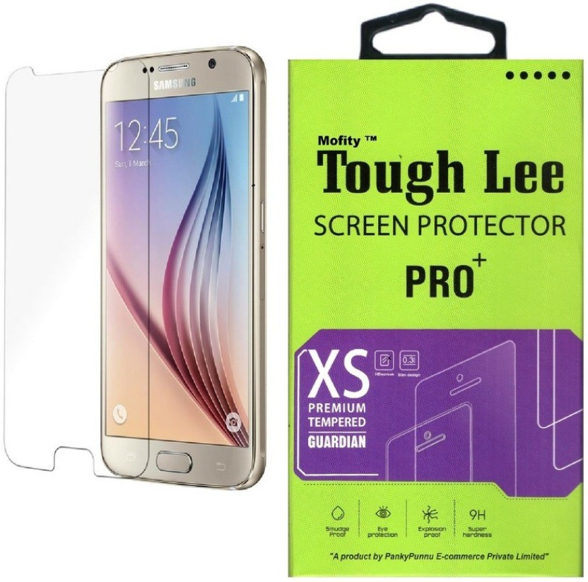 Dainty Tempered Glass Guard for Samsung Galaxy S6 Edge (5.1 inch) (Full Screen Coverage)