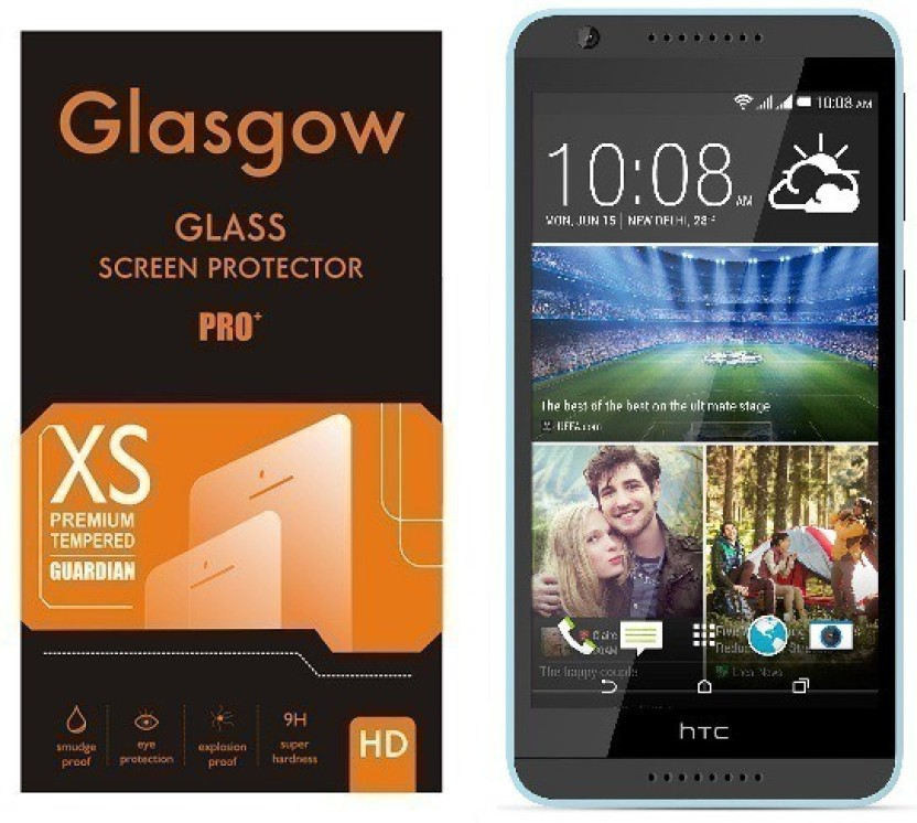 Jaipur Deals Tempered Glass Guard for HTC Desire 820S