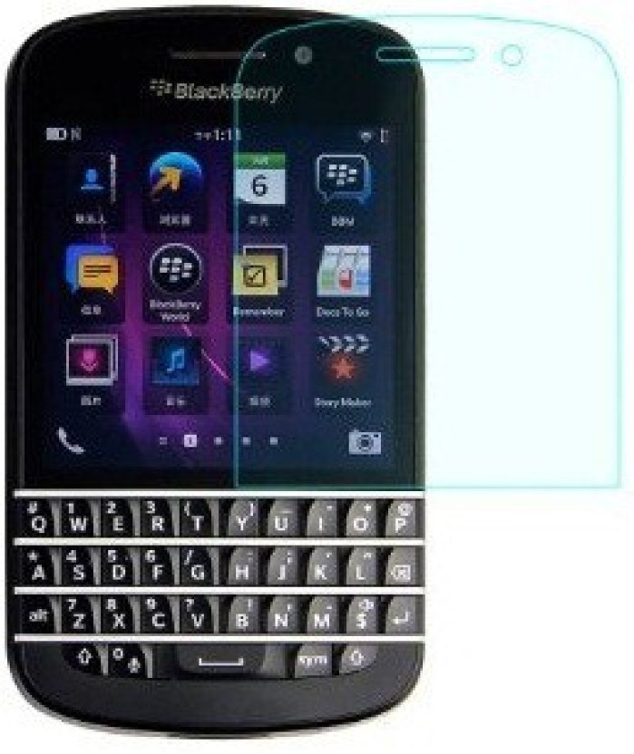 ACM Tempered Glass Guard for Blackberry Q10 (Pack of 3)