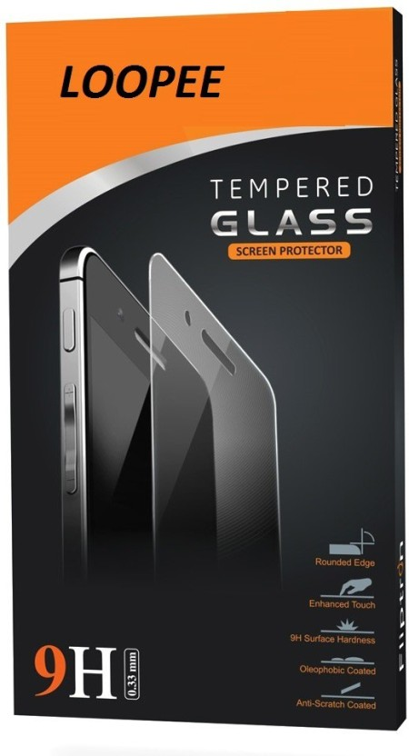 Loopee Tempered Glass Guard for Micromax a177 canvas juice