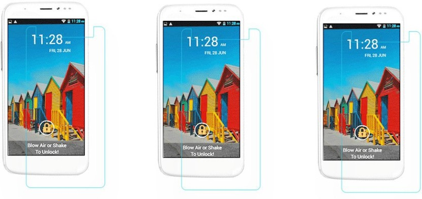 ACM Tempered Glass Guard for Micromax Canvas Doodle 2 A240, (Pack of 2)