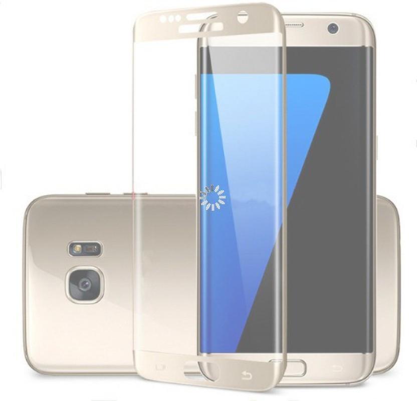 Mc Loj Tempered Glass Guard for S6 Edge, Samsung S6 Edge, Galaxy S6 Edge, SAMSUNG Galaxy S6 Edge, S6 Edge Gold