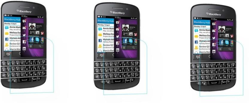 Newlike Tempered Glass Guard for BlackBerry Q10