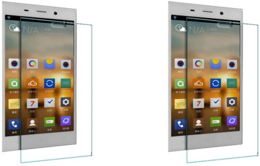 ACM Tempered Glass Guard for Gionee Elife E7 (Pack Of 2)