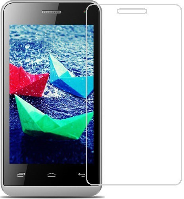 CURO Tempered Glass Guard for Micromax Bolt Q324