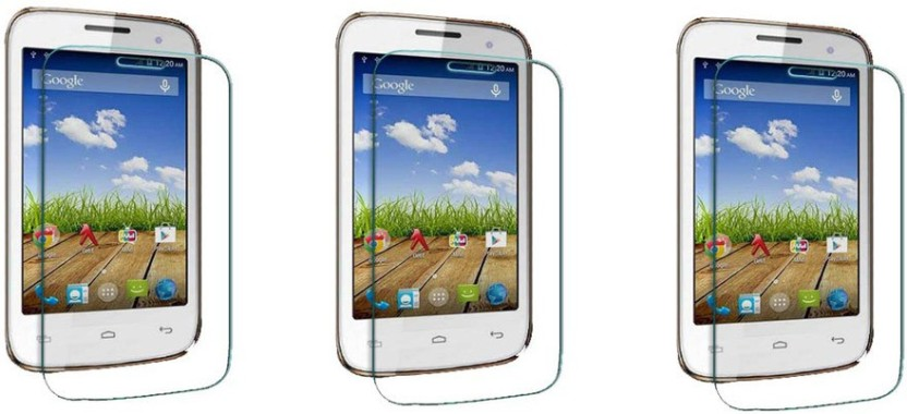 ACM Tempered Glass Guard for Micromax Bolt A065 (Pack of 3)