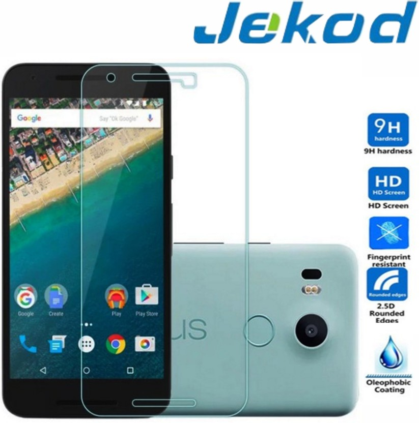 Jekod Tempered Glass Guard for LG Nexus 5x, Google Nexus 5x