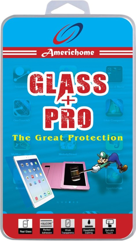AmericHome Tempered Glass Guard for Micromax A350 Canvas Knight