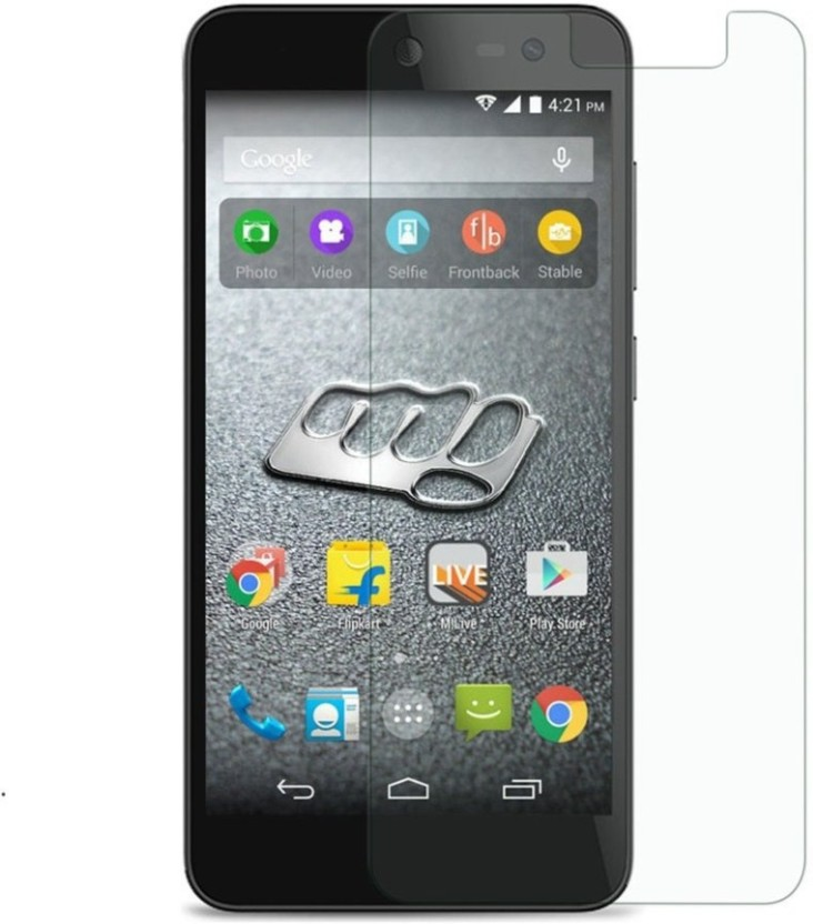 Foyab Tempered Glass Guard for Micromax Canvas Xpress 2 E313