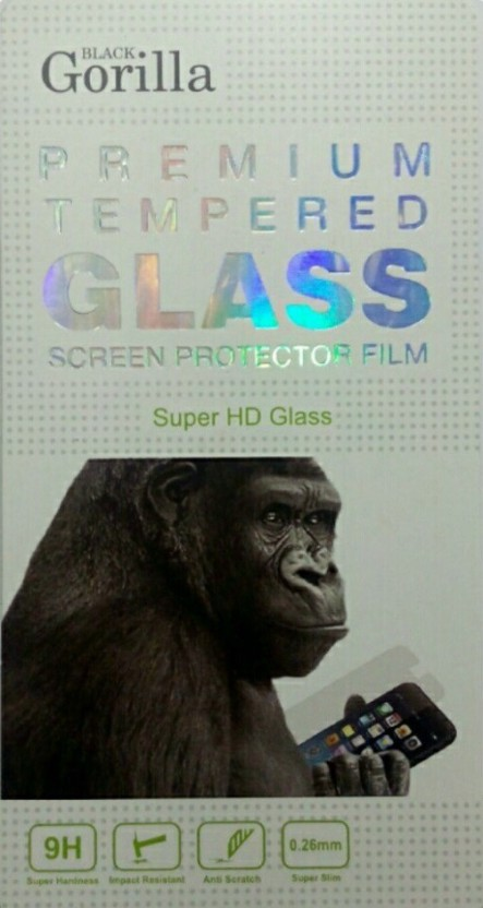 BLACK GORILLA Tempered Glass Guard for MICROMAX CANVAS DOODLE 2 A240