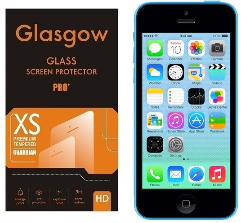 Glasgow Tempered Glass Guard for Apple iPhone 5c